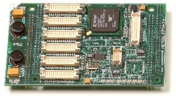FPGA module with RS232/485 serial interface options