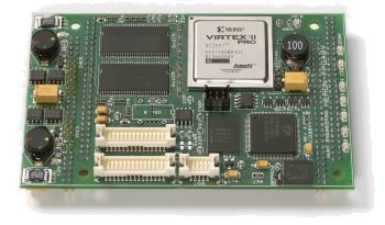 FPGA module with embedded PowerPC