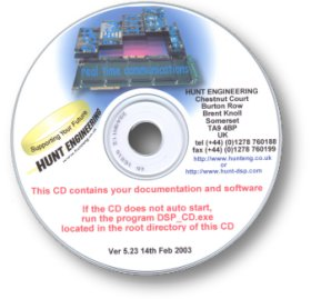 Hunt Engineering DSP CD